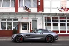 Mercedes-AMG GT S (Instagram: R_Simmerman) Tags: autumn germany grey s gt dusseldorf supercars 2015 sportcars mercedesamg konigsallee hypercars dusseldorfcars carsofdusseldorf