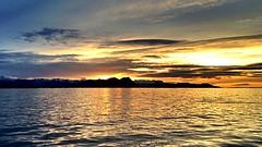 Sunset on Breiafjrur... (Tabergid) Tags: sunset sea iceland snfellsnes breiafjrur iphonography
