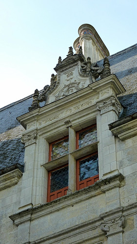 Loire Valley - Azay-le-Rideau chateau window detail