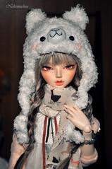 Dreams are nothing (nekomuchuu63) Tags: house face up hair grey eyes mod doll slim 14 chloe wig jc bjd fairyland viridian mako msd entangled minifee