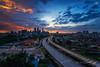 Epic Sunset in Kuala Lumpur (Nur Ismail Photography) Tags: sunset skyline cityscape filter malaysia kualalumpur nisi elevatedhighway singleexposure jelatek visitmalaysiayear raymaster nurismailphotography nurismailmohammed nurismail