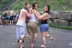 185093470GxQirH_ph (Zappacity) Tags: park girls cute wet barefoot soles muddyfeet dirtyfeet
