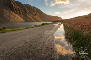 Not the usual view, Wastwater UK