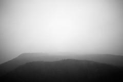 (bendikjohan) Tags: sky bw white mountain black film nature oslo norway fog clouds landscape blw foggy 1600 neopan bergen bnw mountainscape bl