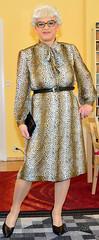 Ingrid021054 (ingrid_bach61) Tags: dress mature kleid bowblouse schleifenbluse