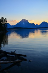 Sunset in the Tetons (ChadG2013) Tags: sunset lakes grand yellowstone wyoming tetons