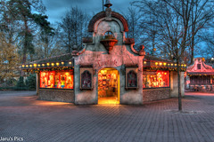 De Loetiek (Jaru's Pics) Tags: old night canon buildings photography evening colours sigma filter nd roller anton efteling avond coaster hdr 1835mm 70d pieck