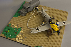 Refuel (kr1minal) Tags: lego moc wwii worldwar german nazi brick