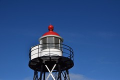 Lighthouse (henkgrashoff) Tags: vuurtoren lighthouse hoekvanholland rood wit red