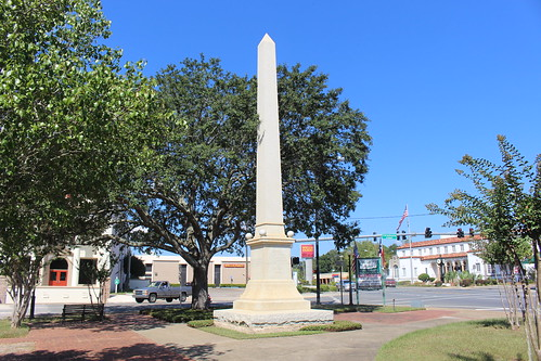 Soldiers of the Confederacy Obelisk, Confederate Park
