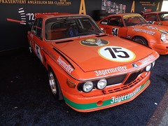BMW 3,0 CSL (911gt2rs) Tags: event meeting show coupe e9 30 tourenwagen jgermeister orange alpina bimmer youngtimer motorsport racing spoiler widebody