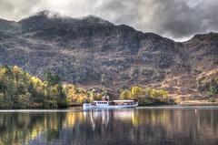 "The ""Sir Walter Scott"" on Loch Katrine, Scotland (Baz Richardson (trying to catch up)) Tags: scotland thetrossachs lochkatrine sirwalterscottsteamship steamships oldvessels lochs mountains lakes"