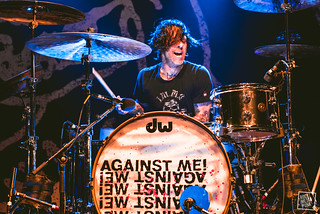 25.10.16 - Against Me! at Commodore Ballroom, Vancouver // photos by Laura Harvey