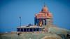 Vivekananda Rock (VinayRaghavendra) Tags: blue vivekanandarockmemorial swamivivekananda kanyakumari laccadive lakshadweep thiruvalluvar india photography vrclikz