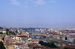 The Skyine of Florence from Piazzale Michelangelo (Bury Gardener) Tags: florence italy europe 2016 piazzalemichelangelo landscape view city