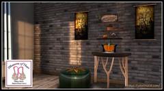 An Lema at Blossoms of Hope Showcase (satorimarat) Tags: secondlife anlema msabc blossomsofhope cancer shopping showcase furnishings furniture decor decorating fantasy halloween