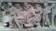 Birth of Dionysus and Death of Semele (Ken_Mayer) Tags: uploadedwithflync baltimore waltersartmuseum hermes mercury roman sarcophagus classical art
