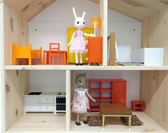 ikea lillabo dollshouse blythe. New IKEA Dollhouse (JaneCherie) Tags: Usaggie Ikea Kumabolo Rement Miniature Petworks Lillabo Dollshouse Blythe