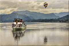 kevin graham - Ullswater Steamer (NWBAC) Tags: ullswater ullswatersteamer raven paulsimpsonphotography photoof photosfrom photosof imageof imagesof cumbria lakedistrict nationalpark september2016 sonya77 water transport boat ship balloon mountains lake lakes nature