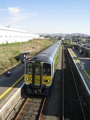 2818 leading the train from Dublin (robinparkes) Tags: iarnrodeireann arklow 2800class railcars