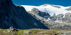 Splendour of Mountains (North Face) Tags: norway norge norwegen mountains mountain cliffs snow ice rocks summer nature landscape landschaft sommer natur berge hütte canon eos 5d mark iii 5d3 24105l hut