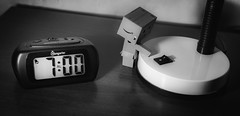 Project 52-29: Routine (albertobastos) Tags: project52 week29 routine daily basis clock alarm danbo light wakeup
