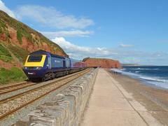 43131 Dawlish (2) (Marky7890) Tags: gwr 43131 class43 hst 1a87 dawlish railway station devon train