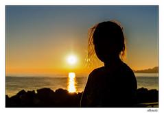 silhouette (tom22_allgaeu) Tags: sunset silhouette nikond7200 nikon d7200 tamron 18270mm lightroom nikfilter sea