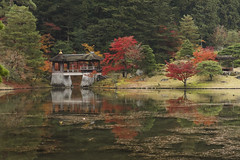 Shugakuin Imperial Villa (Patrick Vierthaler) Tags:               shugakuin imperial villa kyoto fall autumn herbst 2016 pond reflections teich reflektionen herbstlaub foliage northern rakuhoku eizan line eiden