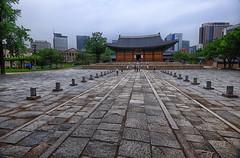 Deoksugung Palace in South Korea (` Toshio ') Tags: toshio seoul rok southkorea deoksugung palace history compound city asia asian korean fujixe2 xe2