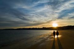 Praia da Corna, Palmeira (PacotePacote) Tags: sunset backlight contraluz atardecer playa praia beach palmeira ribeira galicia corua riasbaixas
