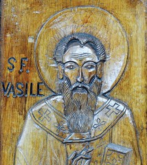 Detail Woodcut Door, Bisericii Sfantul Mina (Miranda Ruiter) Tags: brasov romania church religion orthodox woodcut iconography icons art door detail transsylvania