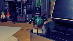 The BatPiper (LordAllo) Tags: lego dc batman bagpipes the joker arkham asylum nonsense scotland