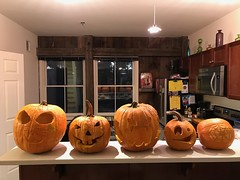 Jack-O-Lanterns 2016 (Brian Sawyer) Tags: pumpkin jackolantern