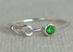 Emerald Infinity Rin (alaridesign) Tags: emerald infinity ring sterling silver stackable rings mothers may birthstone infinitysilverring thinsilverring birthstonering emeraldinfinity alari infinityring silverknotring stackingring mothersring
