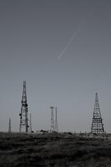 Radio (rob.sidlow) Tags: radio wave pylon antenna plane sky mono desaturate canon 5dmkii lens landscape nature photography photooftheday england north west winter cold