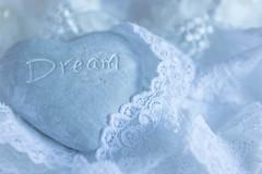 335/366: Sweet dreams... (judi may) Tags: 366the2016edition 3662016 day335366 30nov16 heart stoneheart sentiment dream lace canon7d depthoffield dof bokeh macro heartshape