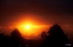 sunrise (gshaun12) Tags: landscape nature sunrise red sillouete fantasticnature