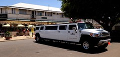 The old and the new, Yungaburra village. (Cairns_Au) Tags: yungaburra limousine hummer cars athertontableland queensland