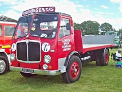 201 AEC Mercury 2 (1960) (robertknight16) Tags: aec british 1960s mercury mercuryii londonbrick phorpres truck lorry flatbed luton 680gtm