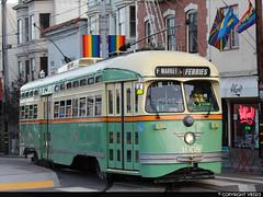 San Francisco Municipal Railway #1058 (vb5215's Transportation Gallery) Tags: muni san francisco municipal railway 1948 exsepta st louis car pcc