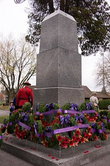 20161111_0070_1 (Bruce McPherson) Tags: brucemcphersonphotography remembranceday southmemorialpark southmemorialparkcenotaph cenotaph vancouverpolice vpd cadets marchpast march marching autumn fall fallleaves memorial vancouver bc canada