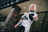Aion (アイオーン) (btsephoto) Tags: cosplay costume play コスプレ animefest afest anime convention dallas texas sheraton hotel fuji fujifilm xt1 yongnuo yn560 iii flash portrait aion アイオーン chrono crusade クロノ クルセイド fujinon xf 35mm f14 r lens