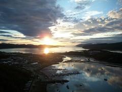 Midnight sun in Kirkenes (Archanegros) Tags: norway norwegia finnmark midnightsun dziepolarny kirkenes bkfjorden fjord girkonjrga kirkkoniemi  spmi