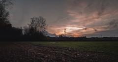 Storms (lutzheidbrink) Tags: germany travel nature sunset storm clouds nikon d5000 dark shadow light
