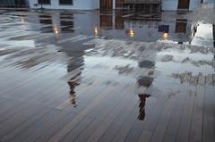 Reflections on Deck (Vintage Alexandra) Tags: queen mary 2 ship ocean liner crossing transatlantic qm2 cunard england