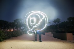 iPhone Squiggles (pandababy611) Tags: landsend longexposure night lighttrail iphone