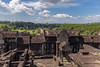 View from Angkor Wat temple (KarlsGalaxy) Tags: angkor archaeological cambodia asia temple view landscape canon 6d eos 1635 1635mm wide sky clouds ruins ruin monk buddhism ancient unesco khmer empire
