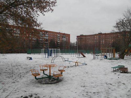 Тула. Красноармейский проспект. Двор. ©  viktor_vkin