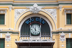 Ho Chi Minh Central Post Office, Vietnam (Sitoo) Tags: city hochiminh saigon vietnam central post office clock architecture arquitectura buintrungtmsign